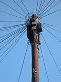 Tecnologia velha das telecomunicações Fotografia de Stock Royalty Free