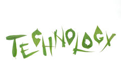 Tecnologia verde Fotos de Stock Royalty Free