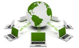 Tecnologia verde Fotografie Stock
