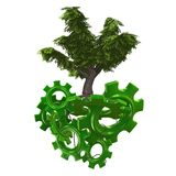 Tecnologia verde Imagens de Stock