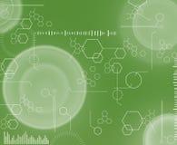 Tecnologia verde Imagem de Stock Royalty Free