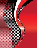 Tecnologia vermelha Imagem de Stock