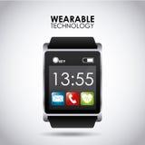 Tecnologia Wearable ilustração stock