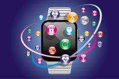 Tecnologia Wearable Fotos de Stock Royalty Free