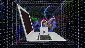 Tecnologias da conexão a Internet da segurança Imagens de Stock