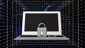 Tecnologias da conexão a Internet da segurança Imagem de Stock