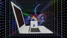 Tecnologias da conexão a Internet da segurança Fotografia de Stock