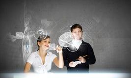 Tecnologias da inovação na educação Fotografia de Stock