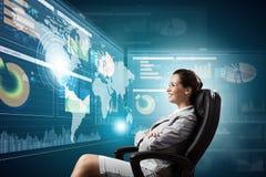 3 tecnologias de d Imagem de Stock Royalty Free