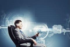 Tecnologias dos media Imagens de Stock Royalty Free