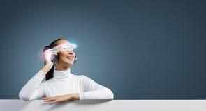 Tecnologias futuras Foto de Stock Royalty Free