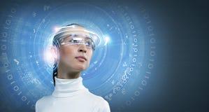 Tecnologias futuras Imagem de Stock