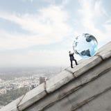 Tecnologias globais Foto de Stock
