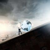 Tecnologias globais Fotos de Stock Royalty Free