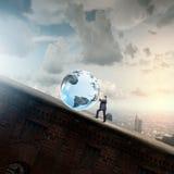 Tecnologias globais Fotos de Stock