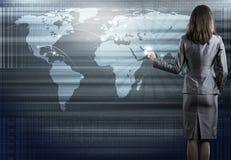 Tecnologias globais Imagens de Stock