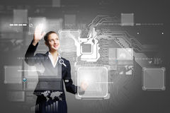 Tecnologias inovativas Fotos de Stock Royalty Free