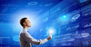 Tecnologias inovativas Imagens de Stock