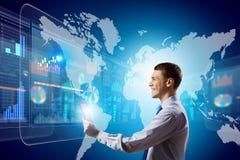 Tecnologias inovativas Foto de Stock