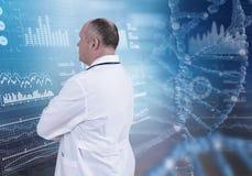 Tecnologias inovativas na ciência e na medicina Imagens de Stock Royalty Free