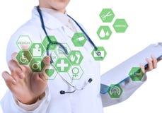 Tecnologias inovativas na medicina Imagens de Stock Royalty Free