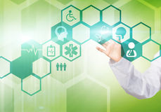 Tecnologias modernas na medicina Fotografia de Stock