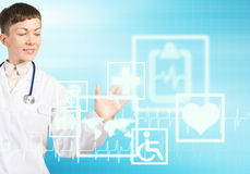 Tecnologias modernas na medicina Fotos de Stock Royalty Free
