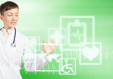 Tecnologias modernas na medicina Imagens de Stock Royalty Free