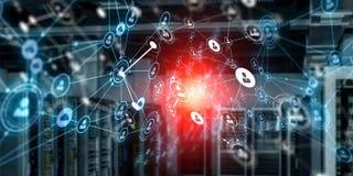 Tecnologias para a conexão Meios mistos Foto de Stock Royalty Free