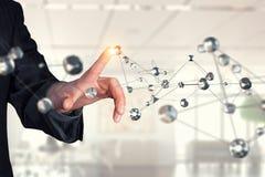 Tecnologias para a conexão Meios mistos Imagem de Stock Royalty Free