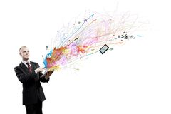 Tecnologias surpreendentes! Imagens de Stock