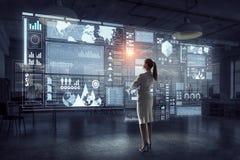 Tecnologie avanzate per il vostro successo Media misti Fotografia Stock Libera da Diritti