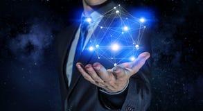 Tecnologie che collegano il mondo Immagini Stock
