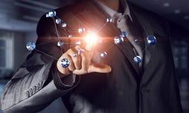 Tecnologie che collegano questo mondo Immagini Stock Libere da Diritti