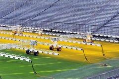 Tecnologie crescenti dell'erba Immagine Stock Libera da Diritti