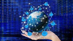 Tecnologie del Internet Fotografie Stock Libere da Diritti