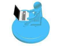 Tecnologie del Internet Fotografia Stock Libera da Diritti