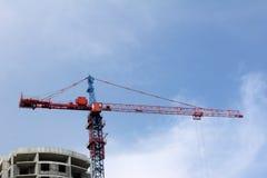 Tecnologie della costruzione dell'alta nuvola Fotografie Stock