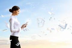 Tecnologie di affari oggi Immagine Stock
