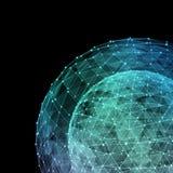 Tecnologie di Internet della rete globale Illustrazione di Digital 3d Illustrazione di Stock