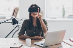Tecnologie di VR Immagine Stock Libera da Diritti