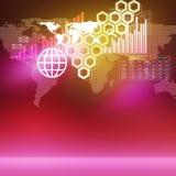 Tecnologie globali royalty illustrazione gratis