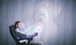 Tecnologie innovarici Immagine Stock