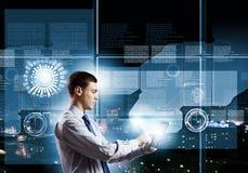 Tecnologie innovarici Fotografie Stock Libere da Diritti