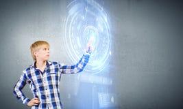 Tecnologie innovarici Fotografie Stock