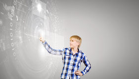 Tecnologie innovarici Immagini Stock Libere da Diritti