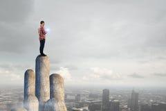 Tecnologie per collegamento e la comunicazione Immagine Stock Libera da Diritti