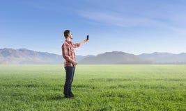 Tecnologie per collegamento e la comunicazione Fotografia Stock Libera da Diritti
