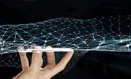 Tecnologie per la comunicazione globale Immagini Stock Libere da Diritti