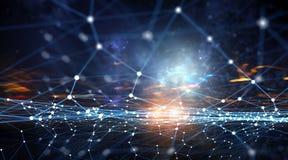 Tecnologie senza fili del collegamento Immagine Stock